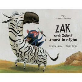 Zak una zebra sopra le righe
