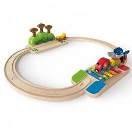 Il mio piccolo set treno...