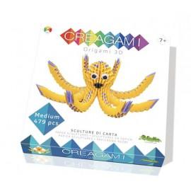 Creagami - origami 3d Polpo